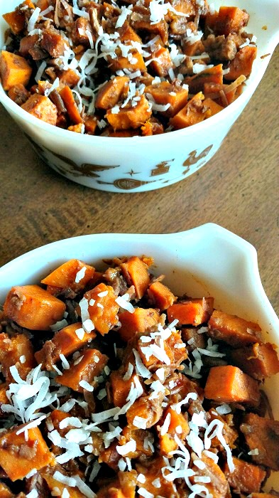 coconut pecan sweet potatoes
