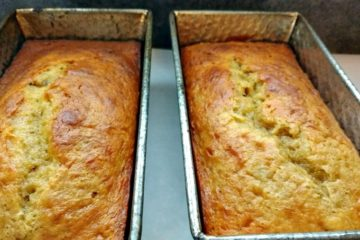 5 ingredient banana bread
