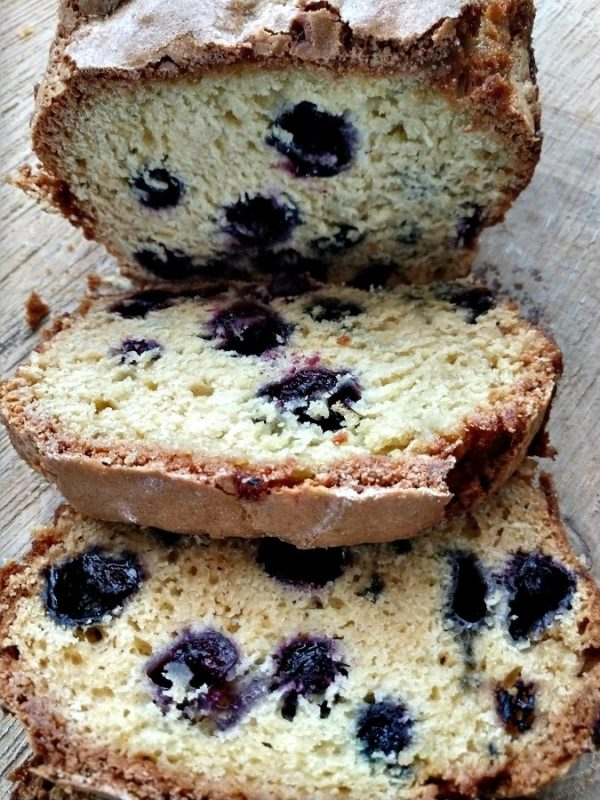 blueberry orange juice bread