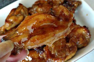 slow cooker sweet and savory chicken wings