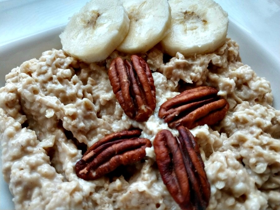 Slow Cooker Banana Bread Oatmeal