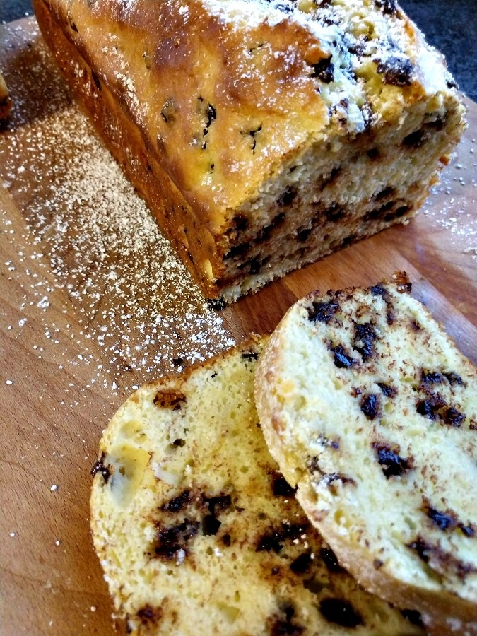 Chocolate Chip Ricotta Cake