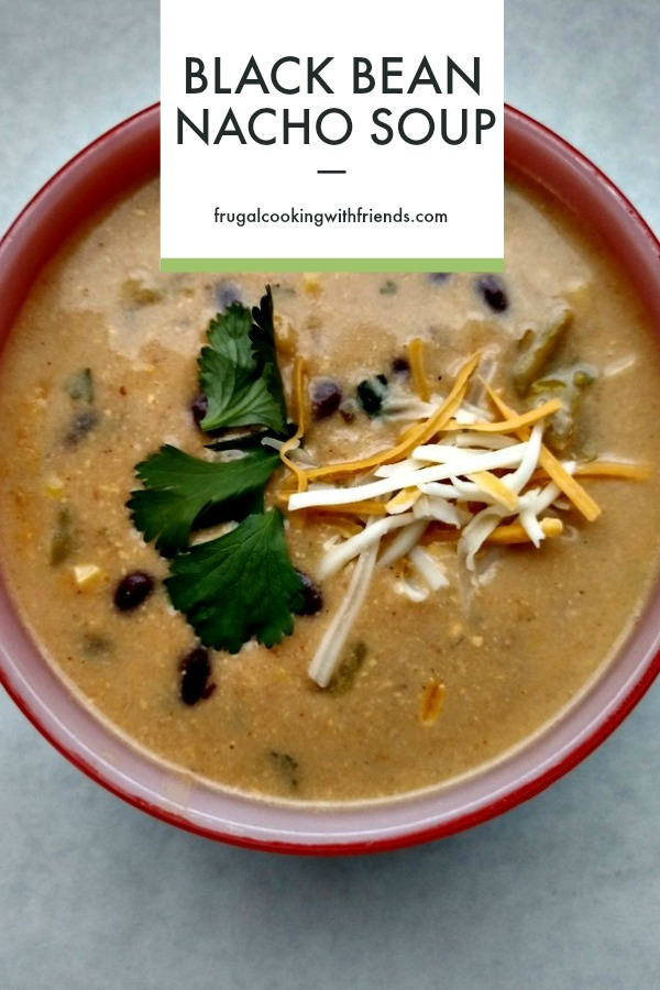 Black Bean Nacho Soup