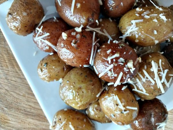 Herb Garlic Potatoes