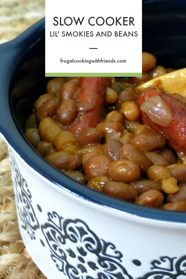 Slow Cooker Lil' Smokies and Beans