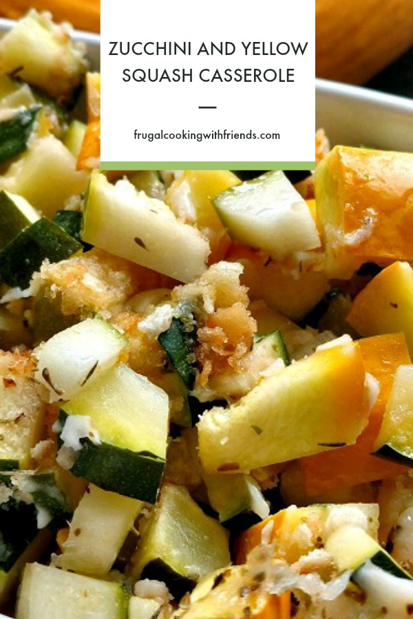 Zucchini and Yellow Squash Casserole