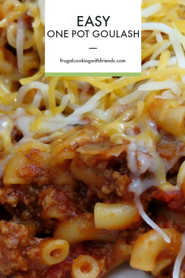 Easy One Pot Goulash